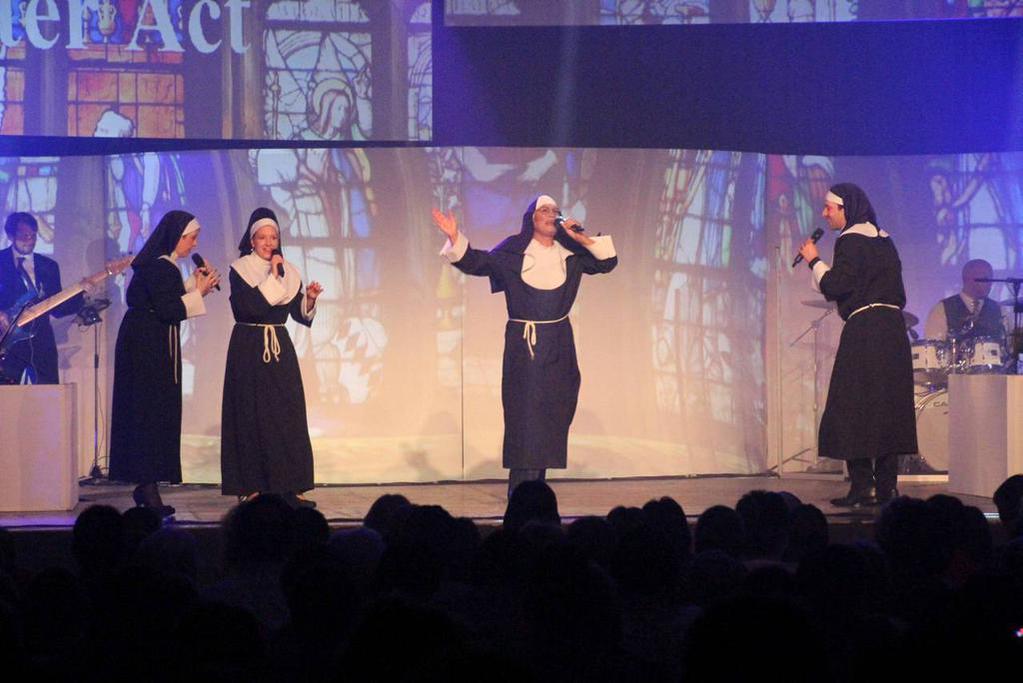 Singende Nonnen reißen alle mit